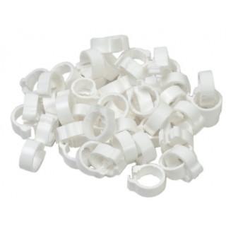 White 5mm Pigeon Rings