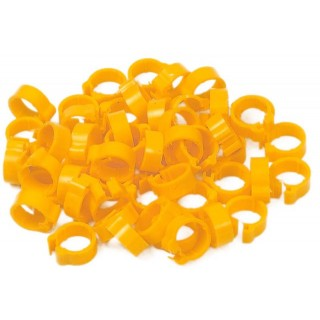 Yellow 5mm Numbered Rings