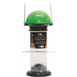 Giant Roll Top Nyjer Seed Feeder
