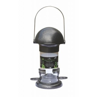 Heavy Duty Roll Top 2 Port Seed Feeder