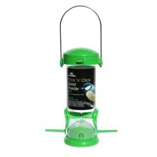 Flick 'N' Click 2-Port Seed Feeder