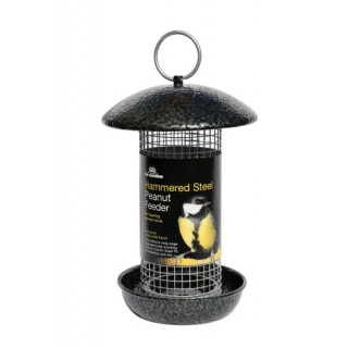 Hammered Steel Peanut Feeder