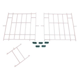 Set of White Plastic Fronts
