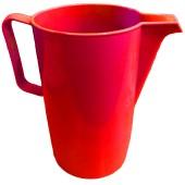 Plastic Red Jug 2L