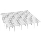 Plastic Floor Grill with Supports