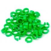 Green 5mm Pigeon Rings