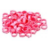Pink 5mm Pigeon Rings