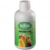 King Amino-Cal Plus 250ml | Calcium Supplement for Birds