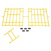 Set of Yellow Plastic Fronts