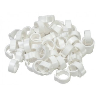 White 5mm Pigeon Rings