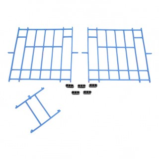 Set of Blue Plastic Fronts Haspeslagh