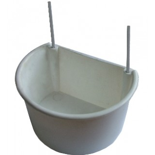 Show Pen / Nest Box Cup with Wire Hangers