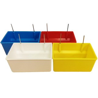 Oblong Nest Box Cups with Wire Hangers
