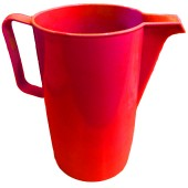 Plastic Red Jug 2L
