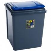 Blue 50L Corn Bin- Holds 25 KG Bags