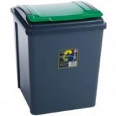 Green 50L Corn Bin- Holds 25 KG Bags