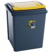 Yellow 50L Corn Bin- Holds 25 KG Bags (Pre-Order)